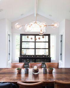 ETSY - Handblown 6 Glass Globe Bubble Light Chandelier by lindenharlow Dining Room Lighting, Chandelier Lighting, Chandeliers, Chandelier Ideas, Pendant Chandelier, Light Pendant, Bubble Chandelier, Candelabra Bulbs, Globe Lights