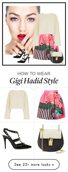 """""""Rh- 728"""" by randeee on Polyvore featuring Mary Katrantzou, 3.1 Phillip Lim, Chloé and Valentino"""