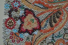 bead embroidery from threads across the web - lovely!