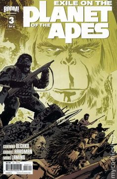 Exile on the Planet of the Apes (2012 Boom) 3A Comic book covers
