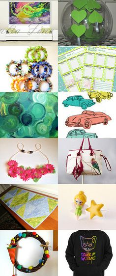 "Adding just a ""touch of lime"" Treasury by Thomas Ludes"