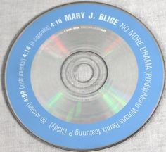 Mary J Blige P Diddy 2002 No More Drama Promo Single Music CD Music MT/NM OOP #HipHop2000sElectronicRBSwing