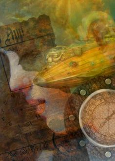 Follow me on facebook and receive up to 50% off all your purchases now through March 31st! Look for the promo code on facebook at: Tonja Sell - Artist Page1  Choose a STEAMPUNK Art PRINT   by Tonja Sell by TonjaSell on Etsy, $22.00