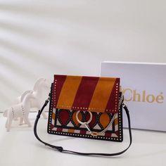 b1284996ae10 Chloe FAYE SHOULDER BAG Faye shoulder bag in smooth   suede calfskin with  geometric patchwork shoulder