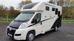 Newmarket Elite two horse horsebox with living for sale | HorseDeals.co.uk