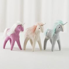 unicorn plushies