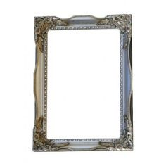 Large Champagne Silver Tuscany Leaner Mirror - Ayers & Graces Online Antique Style Mirror Shop