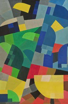 Otto Freundlich, Composition, 1936. via Christie's
