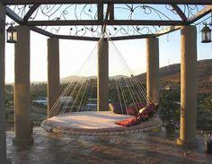 Incredible outdoor hammock