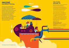 SOUTHBANK / imagine festival 2011 - Spencer Wilson Illustration
