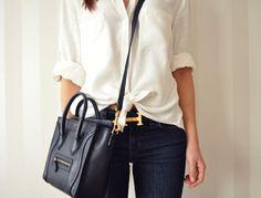 (1) Fancy - Celine Mini Luggage Bag