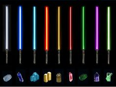Pick a lightsaber color