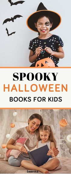 Our Favorite Spooky (but not too scary) Halloween Books For Kids!  Classic children's books to read aloud that'll get the whole family in the Halloween spirit. Your mini witches and warlocks will definitely approve. #beenke #ChildrensBooks #Halloween | Best children's books