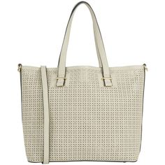 Oasis Cut Out Shopper Bag, Mid Grey ($44) ❤ liked on Polyvore featuring bags, handbags, tote bags, hand bags, cut out handbag, gray tote bag, shopper handbags and purse tote