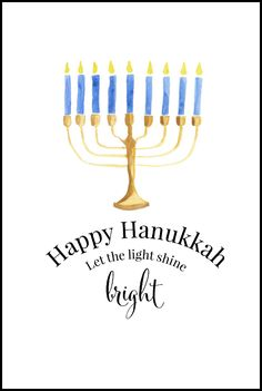 photograph relating to Printable Hanukkah Card titled 11 Easiest Card Creating: Jewish Holiday seasons pics inside 2017