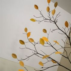 Real branches, paper leaves