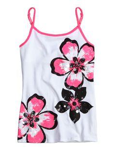 Floral Cami | Camis | Clothes | Shop Justice