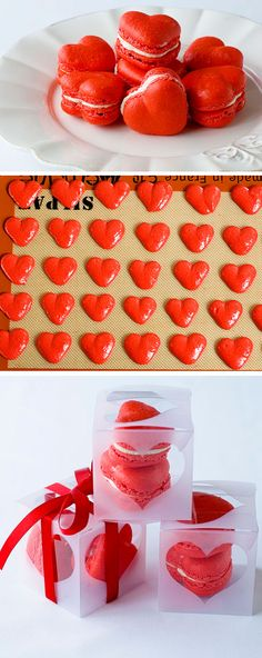 Red Velvet Valentine's Macarons | Click Pick for 20 Homemade Valentines Day Cookies for Kids to Make | Easy Valentines Day Baking for Him