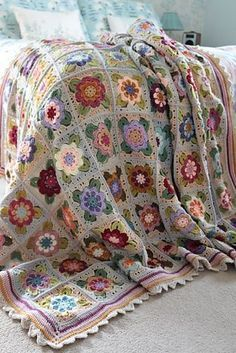 Ravelry: Painted Roses Blanket