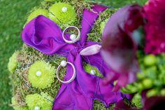 Eins schönes Plätzchen für die Ringe.