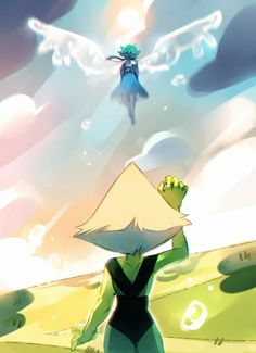 - s o r r y - by I definitely do not know what's going on. No lapis don't leave!