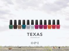 How did I not know about OPI's Texas Collection for Spring - Summer 2011?