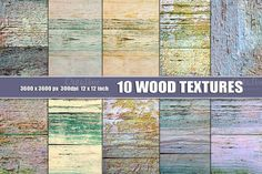 intriguing PAINTED WOOD TEXTURES PASTEL by Area on Creative Market