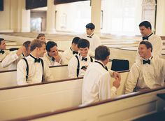 awesome shot of the groomsmen