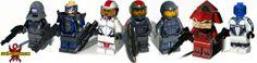 Assemble Your Custom Lego Mini-Figure Mass Effect Squad