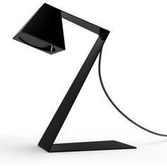 BIG Z LIGHT - Lampe de bureau pliable Noir - Thomas de Lussac - 179€