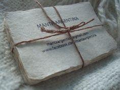 MANTA ARGENTINA handmade label