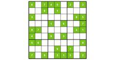 SUDOKU. Ľahké sudoku #11051. Ľahké sudoku, vhodné pre tých ktorí so sudoku ešte len začínajú alebo si nechcú pri lúštení sudoku veľmi namáhať mozog.