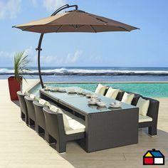 M s de 1000 im genes sobre terrazas en pinterest verano for Columpio de terraza homecenter