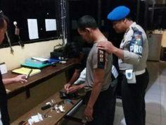 Provos Polda Jatim Tangkap Oknum PJR Nyabu Tribratanews Polda Jatim