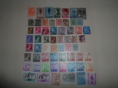Set Stamps Belgium 60 pcs .Start Price 0.99
