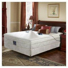 """Pure Form 6700 Series 22"""" High Twin Extra Large Size 6-Chamber Euro Pillow Top Memory Foam Air by Boyd's. $1475.00. Mattress.. Ensures a clean, hygienic sleep environment.. Patent pending anti-microbial, washable stretch satin cover with vinyl moisture barrier protects. Cotton fiber naturally dissipates moisture for healthy comfort.. Patented tri-zone lumbarpedic natural cotton fiber cover is extremely resilient with durability and. AIR BEDS are one of the newest fastest-..."""