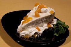 Bier Haus: Cheesecake de damasco.