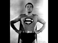 George Reeves, Adventures of Superman, 6 rounds . Old Superman, Original Superman, Superman Stuff, Superman Family, Batman, George Reeves, Steve Reeves, Adventures Of Superman, Old Tv Shows