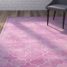 Wilkin Pink Area Rug