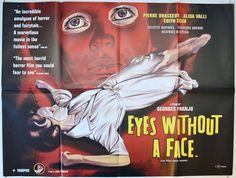 Eyes Without A Face  (a.k.a. Les Yeux Sans Visage) - Original Quad Movie Poster