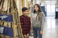 Grade 8 students Kai McQuabbie and Brittany Cada have attended First Nations School since kindergarten and could be in its first graduating class if they stay through high school. Teaching Social Studies, Teaching Kids, Graduating Class, Circumcision, Media Literacy, Bright Future, Atheism, First Nations, Baggage
