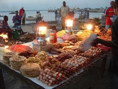 zanzibar - food night market - one of the best meals ever!