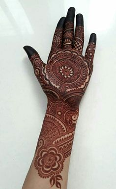 Henna Design By Fatima Khafif Mehndi Design, Mehndi Designs Book, Mehndi Designs For Girls, Mehndi Designs 2018, Modern Mehndi Designs, Mehndi Design Photos, Simple Arabic Mehndi Designs, Beautiful Mehndi Design, Mehndi Style