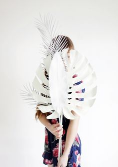 DIY Painted Palms @themerrythought