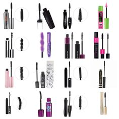 Mascara Dupes! 1.Benefit They're Real $23.00  Revlon PhotoReady 3D  $9.00  2. Lancome Hypnose Doll  $27.50 Maybelline Lots of Lashes $7.00  3. Givenchy Couture Noir $32.00  Rimmel Sexy Curves $8.00  4. Mac Haute & Naughty $22.00  Rimmel Day 2 Night  $8.00  5. Too Faced Better than Sex $23.00  NYX Doll Eyes $9.50  6. Lancome Oscillation $36.50  Loreal Cosmetics Telescopic $10.00  7. Lancome Definicils Pro $27.50 Maybelline The Falsies $7.00  8. Lancome Hypnose $27.50  Loreal Voluminous $10.00