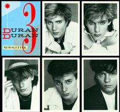 Duran Duran Fan Club magazine #3