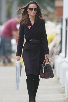 Cuantos abrigos tiene Pippa Middleton