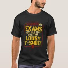 Funny I Passed My Exam last day of school gifts T-Shirt Christmas Quotes, Christmas Humor, Retro Birthday, Birthday Gifts, Quotes Gif, Equestrian Gifts, Basketball Mom, Proud Dad, Last Day Of School