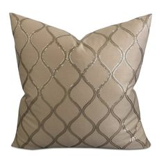 Enliven a bedroom or living room with this x silk sequined decorative pillow, perfect for beds, sofas and. Pillow Texture, Decorative Pillow Covers, Pillow Inserts, Luxury Homes, Sofas, I Shop, Beds, Throw Pillows, Interiors