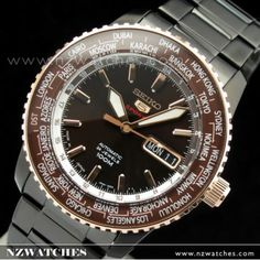 BUY Seiko 5 Sport 4R36 Automatic Ltd Edition Mens Watch SRP132J1, SRP132 Japan - Buy Watches Online   SEIKO NZ Watches